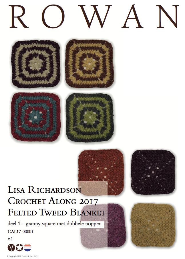 Lisa Richardson Crochet Along 2017 Garenpakket Met Gratis Fles Euculan