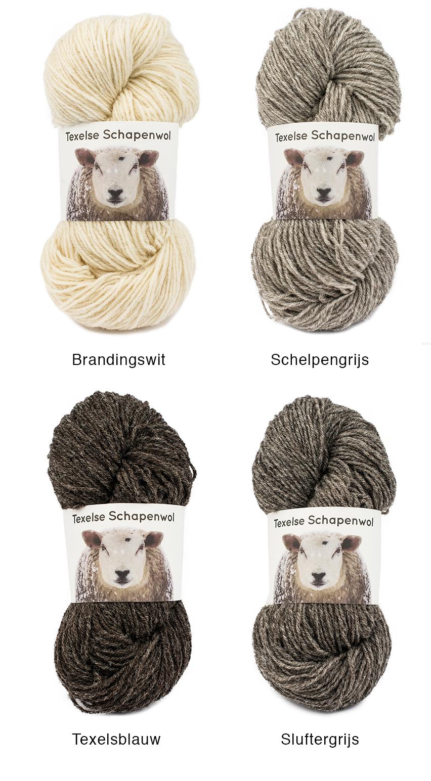 noordkroon texelse schapenwol