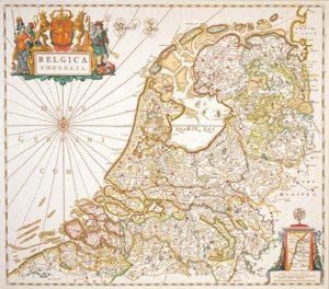 landkaart-nederland