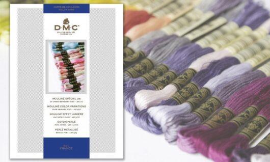 DMC Mouliné stalenkaart