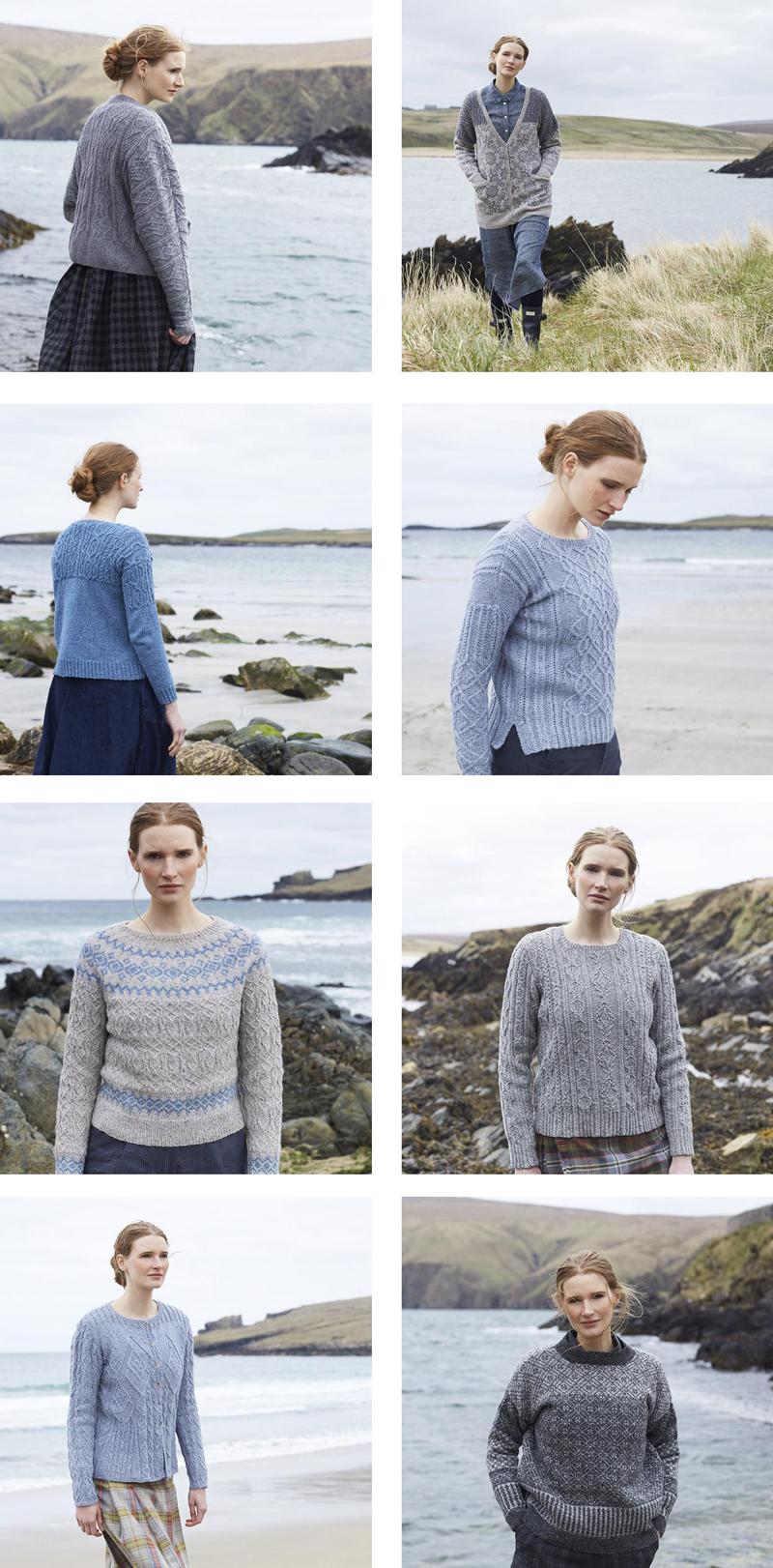 marie wallin north sea patterns patronen
