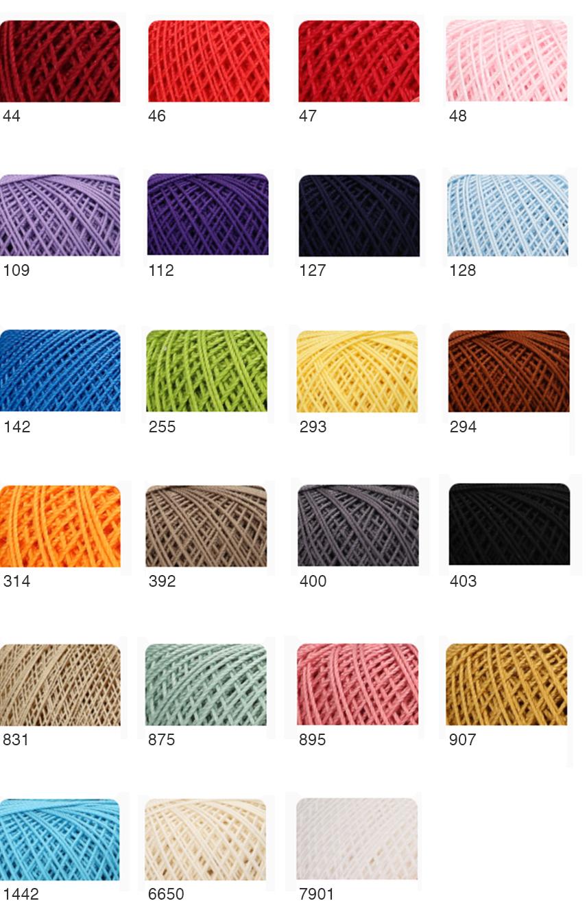 anchor freccia haakgaren crochet yarn de afstap shadecard