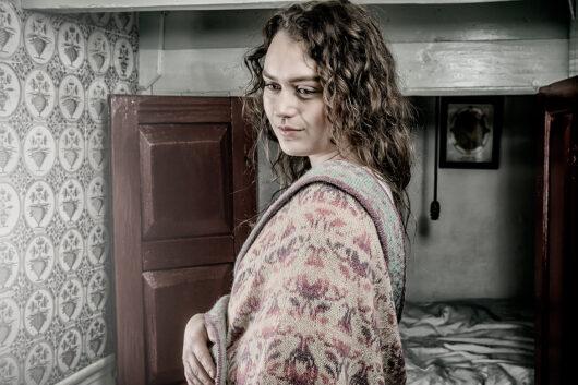 Christel Seyfarth Roses and Thornes shawl pastels