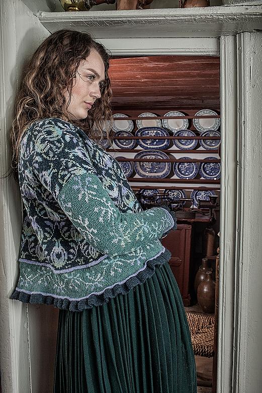 Christel Seyfarth Roses and Thornes Jacket Pastels