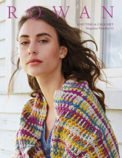 Rowan-knitting and crochet magazine 63