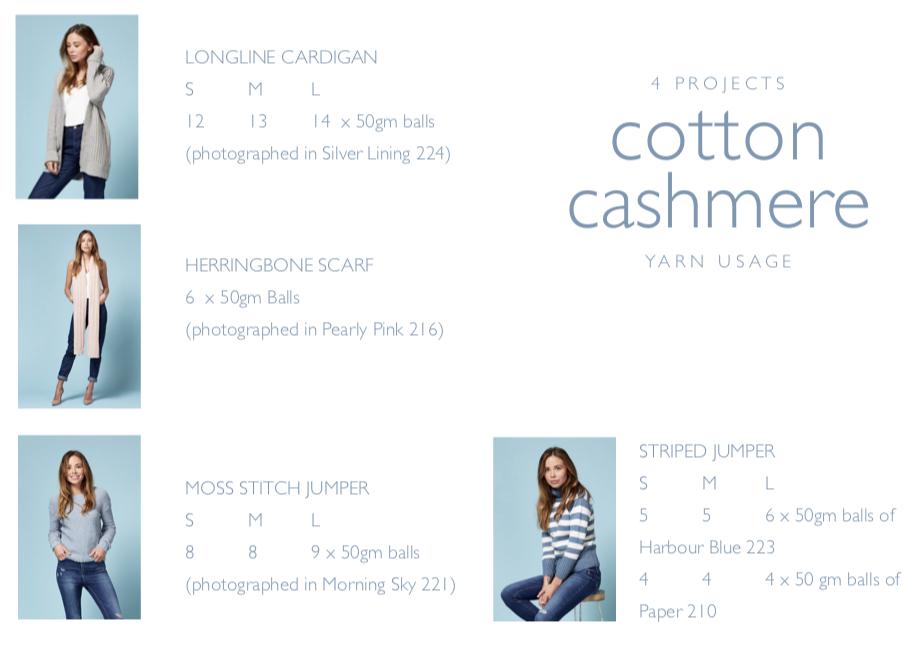 cotton cashmere publicatie