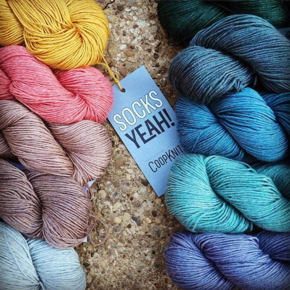 coopknits socks yeah sokkengaren yarn