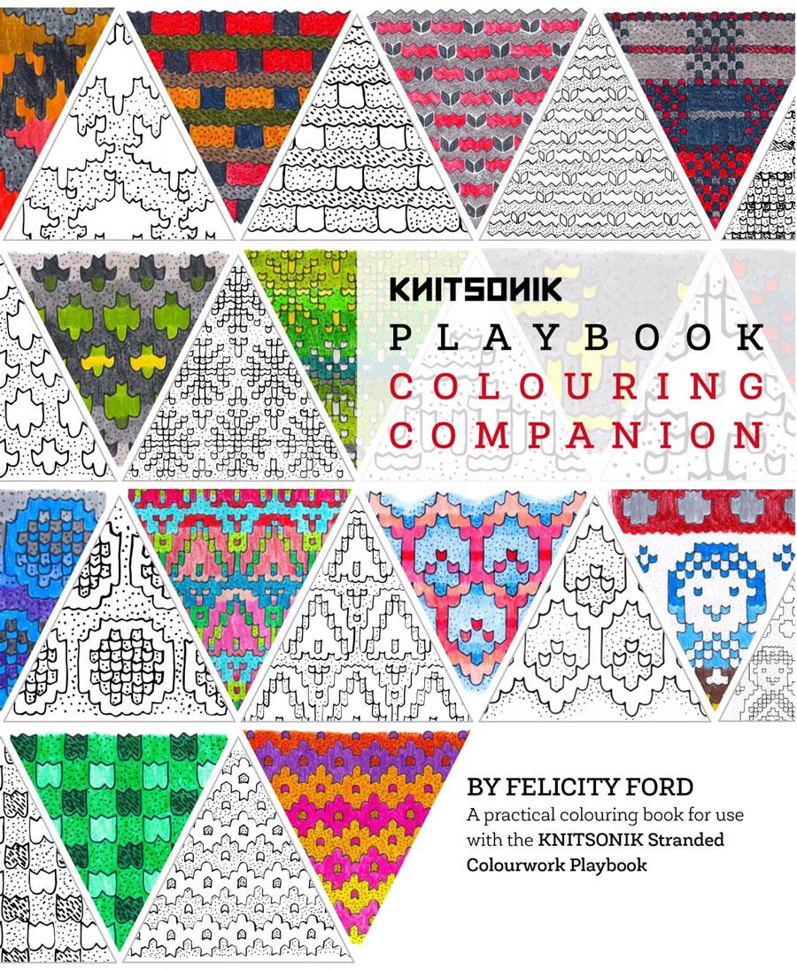 KNITSONIK Stranded Colourwork Colouring Companion