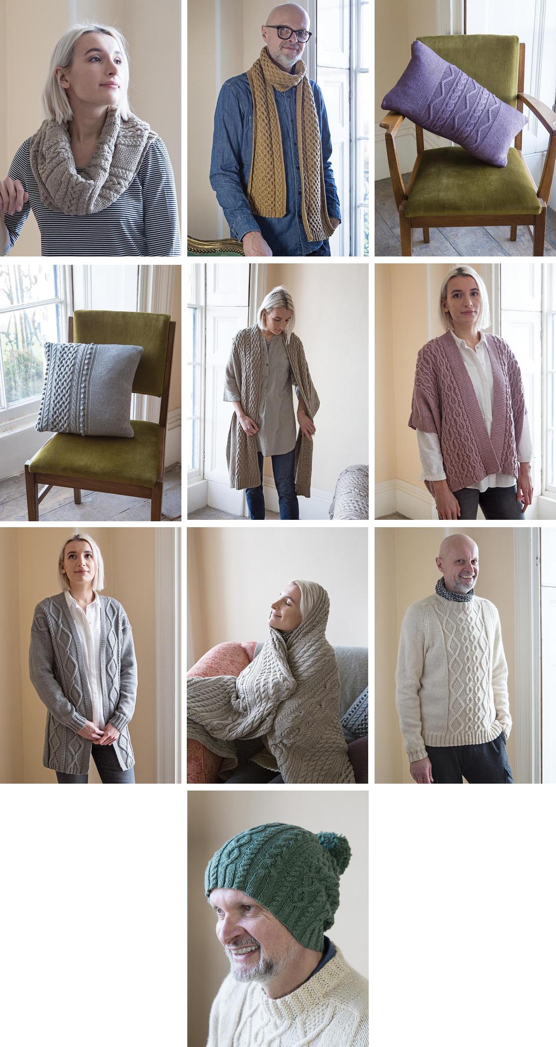 easy aran knits martin storey