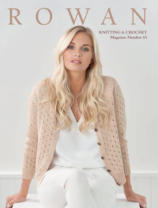 Rowan Knitting & Crochet Magazine nr. 65 de afstap