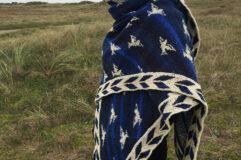 christel seyfarth sea bird shawl