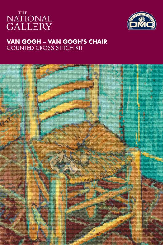 DMC The National Gallery - Van Gogh's ChairCross Stitch Kit