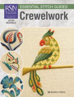 Crewelwork (Royal School of Needlework) Essential Stitch Guides de afstap amsterdam