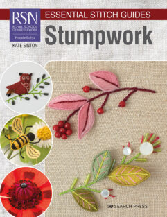 Essential Stitch Guides RSN Stumpwork de afstap amsterdam