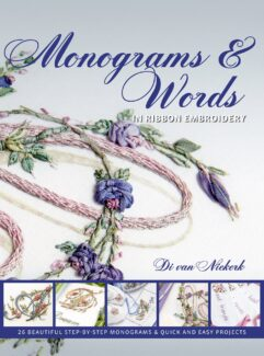 Monograms & Words In Ribbon Embroidery