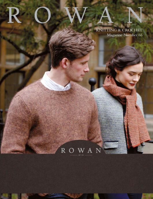 Rowan Knitting & Crochet Magazine nr. 66 de afstap