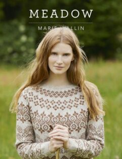 Meadow cover marie Wallin de afstap breiboek
