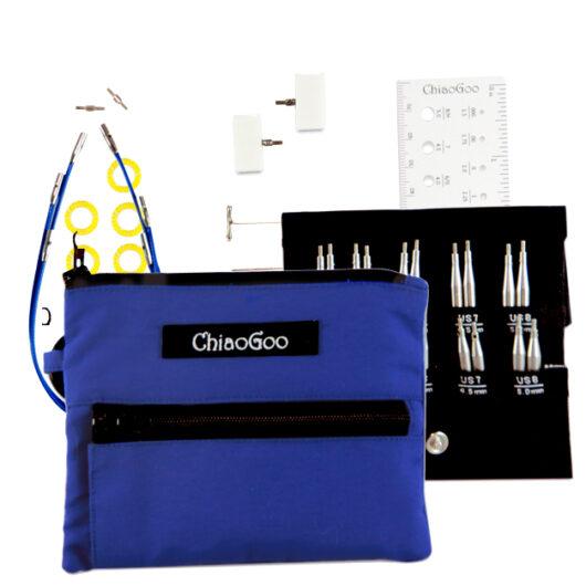 ChiaoGoo Twist Blue Shorties