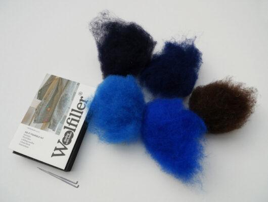 woolfiller blauw