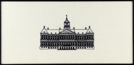Royal Palace Amsterdam borduurpakket