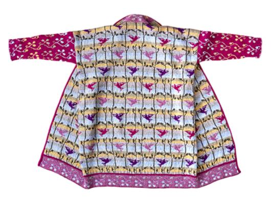 Christel Seyfarth Beach Bird Coat pastellen - Kant-en-klaar / Beach Bird Coat pastels
