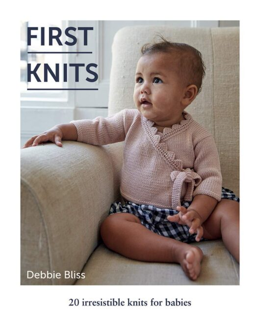 First Knits - 20 irresistible knits for babies van Debbie Bliss