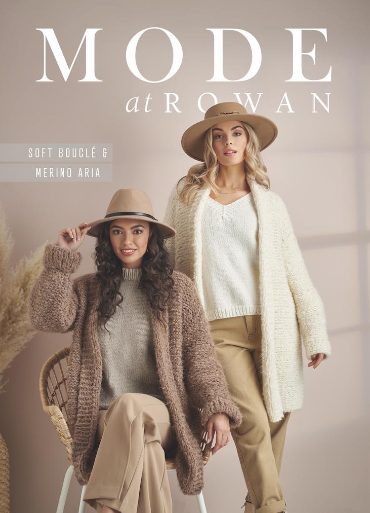 Mode at Rowan - Soft Bouclé & Merino Aria de afstap amsterdam