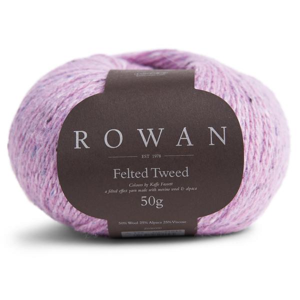 Rowan Felted Tweed 221 de afstap
