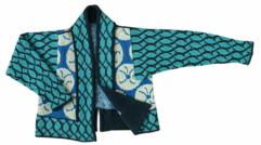 Christel SeyfarthAquarius Jacket - breipakket / yarn kit de afstap amsterdam