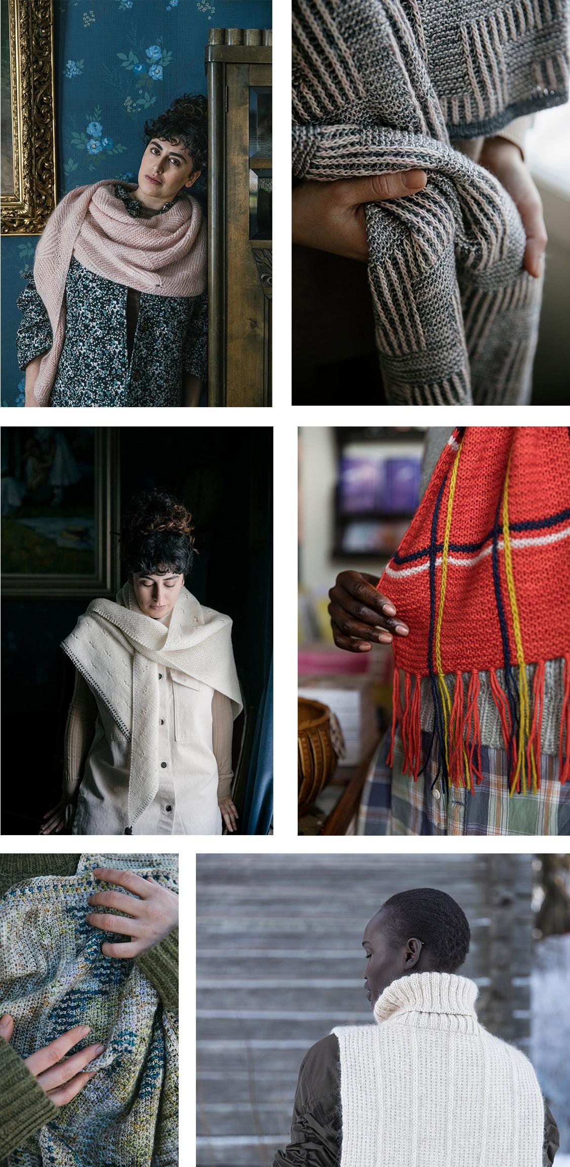 52 weeks of shawls laine de afstap amsterdam