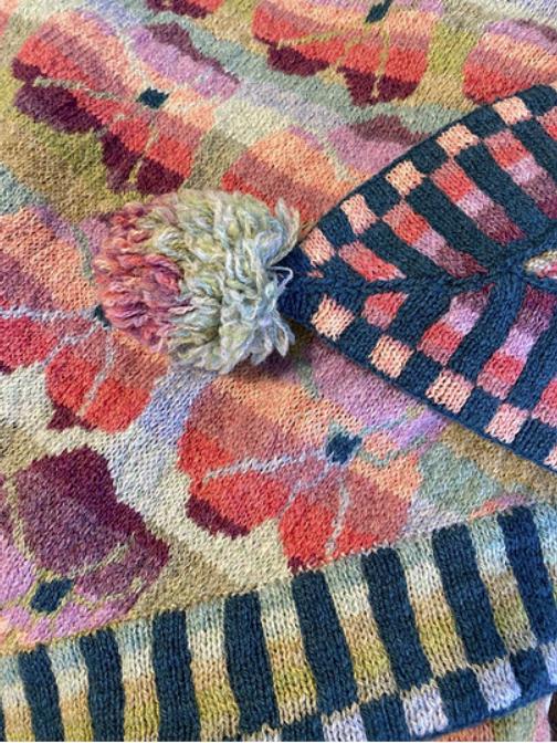 Christel Seyfarth Mega Beach Rose Shawl - Pastels yarn kit | Mega strandroos sjaal - pastellen