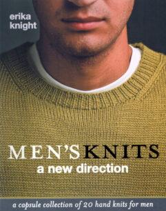 Men's Knits: A New Direction Erika Knight verkrijgbaar bij de Afstap Amsterdam