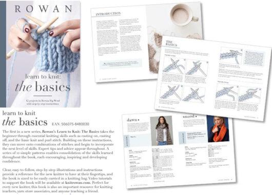 Rowan Learn to Knit - The Basics