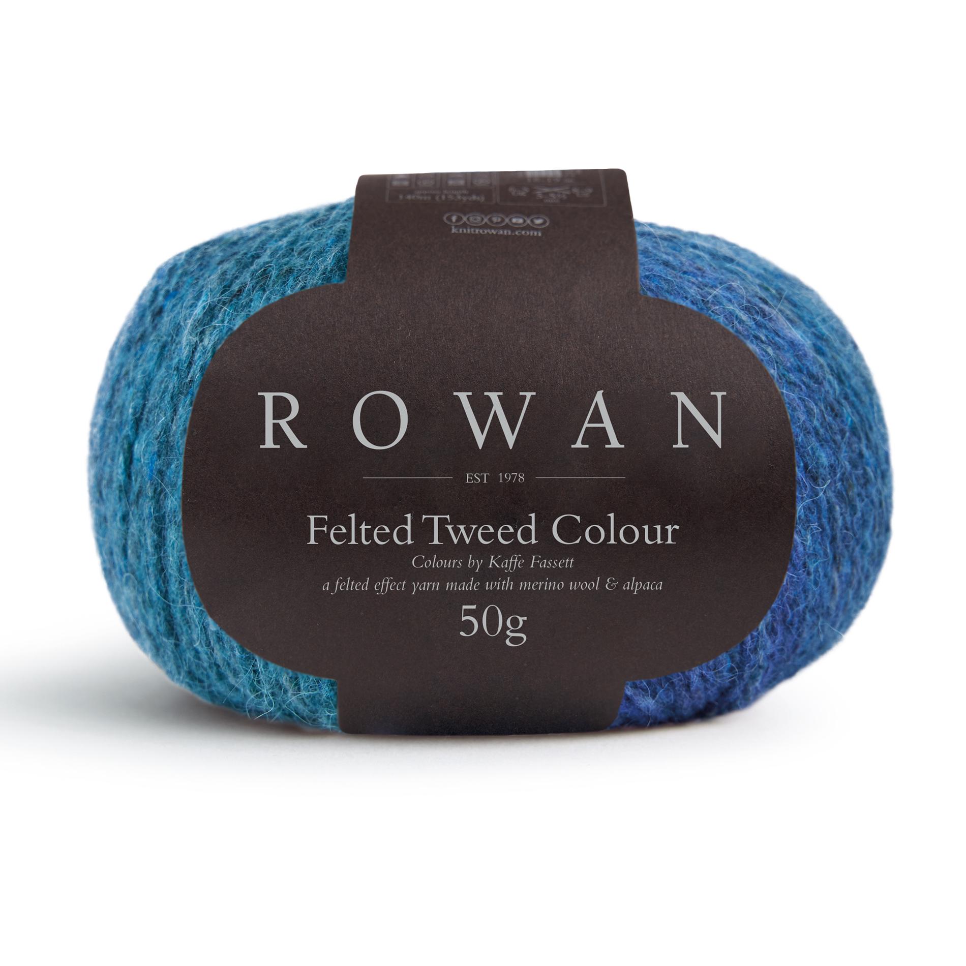 Rowan Felted Tweed Colour color breigaren kaffe fassett bij de Afstap Amsterdam 026