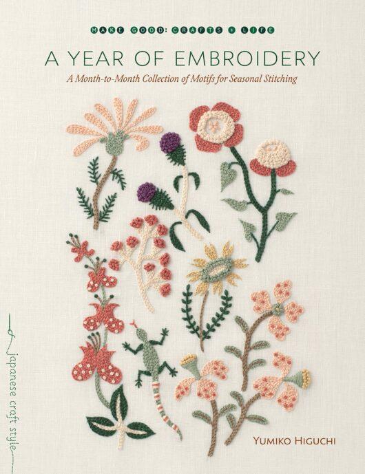 A Year of Embroidery borduurboek bij de Afstap