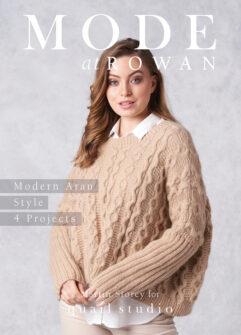 Mode at Rowan – Modern Aran Style 4 Projects verkrijgbaar bij de afstap