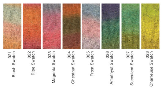 felted tweed colour